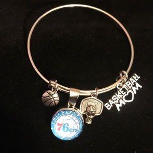 Jewelry - NBA Philadelphia 76ers basketball Mom Bracelet